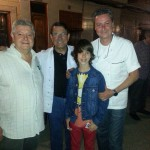 Granero, de casa Granero (Serra), Pepe de la Casa del Tapeo, Paco de Restaurante Barbados y Manuel de MasterChef Junior